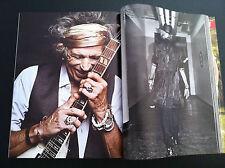 L'uomo VOGUE Italia KEITH RICHARDS Stones, De Niro Hefner e Pamela Anderson