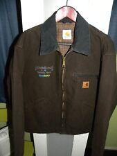 MENS XL - Carhartt Lined Jacket Brown
