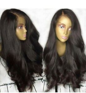 13x4 Lace Front Human Hair 26 Inch-180% Natural brown color