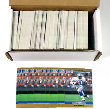 Lot of (360) 1990 Pro Set Football Barry Sanders #1 Rookie of the Year Nm/Mt