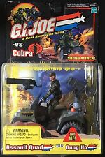 Gi Joe Assault Quad with Gung Ho ATV Action Figure Package Made By Hasbro 2002