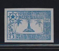 ***REPLICA*** of Indonesia 1949 - rare Surakarta military stamp - UNUSED
