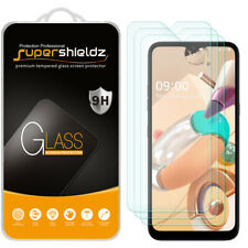 [3-Pack] Supershieldz Tempered Glass Screen Protector for LG K41S