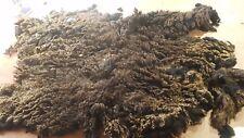 1.3kg Raw Sheeps Fleece Welsh Black Spinning Weaving Stuffing Insulation 187