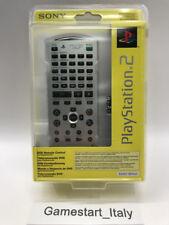 TELECOMANDO DVD REMOTE CONTROL PS2 SATIN SILVER - SONY PS2 - NEW SEALED NUOVO