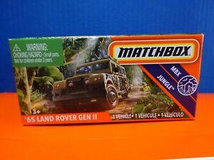 2020 Matchbox POWER GRABS '65 LAND ROVER GEN II. MBX JUNGLE Series 63/100. BOXED