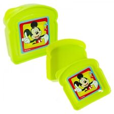 Sandwich Box Brotdose Lunchbox Kindergarten KiTa Schule Disney Mickey Maus