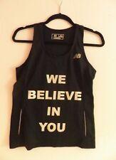 Women's New Balance NB Racerback Workout Fitness Yoga Tank Top Shirt Size SMALL