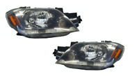 Pair of Headlights Right+Left For Mitsubishi Outlander Ze (2003-2004)
