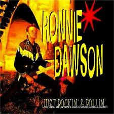 RONNIE DAWSON Just Rockin' & Rollin' CD - Rockabilly - Rock 'n' Roll - NEW