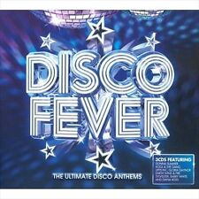 Disco Fever Ultimate Anthems (CD 2010 3 Discs Universal Distribution) 60 songs