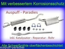 Abgasanlage Auspuff Opel  / Vauxhall Corsa B 1.0i 12V +Kit mit Kat. Rep. - Rohr