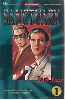 SANCTUARY Part Four lot (5) #1 #2 #3 #5 #6 (1995>) Viz Comic FINE