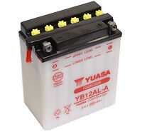 Batterie Moto APRILIA 125 Scarabeo  Yuasa YB12AL-A  12v 12Ah