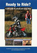 Ready To Ride? - A Video Guide For Parents And Young Riders by Honda - DVD