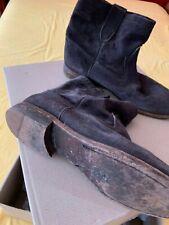 Isabel Marant x H&M suede boots - dark grey