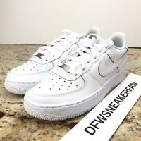 Nike Air Force 1 (GS) Size 7Y / Women's 8.5 Triple White  Shoes 2020 314192-117