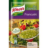 Knorr Sos Salatkowy Francuski French Vinaigrette Mix for Salads 9g Bag (3-Pack)