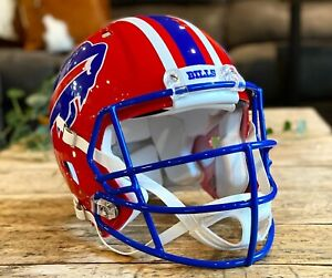 JIM KELLY Edition BUFFALO BILLS Riddell Speed AUTHENTIC Football Helmet