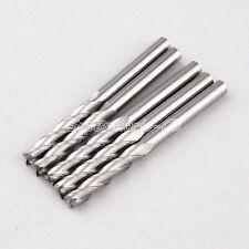 Three Flute 5PCS 6mm CNC Carbide Spiral Bit CEL 72mm gb