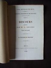 Discours prononcé par M. L. Leclerc - La vieillesse du magistrat