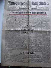"""""""Flensburger Nachrichten"""" vom 15. September 1936, Geburtstagsgeschenk."""