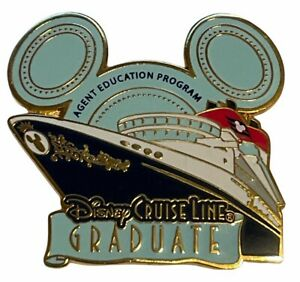 Disney Cruise Lines - 2009 Agent Education Program Graduate Pin