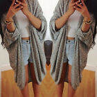 Women Casual Long Sleeve Knitted Cardigan Loose Sweater Jacket Coat Outwear Tops