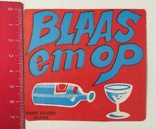 Aufkleber/Sticker: Blaas Em Op - Eshuis Stickers Dalfsen (260516132)