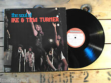 TINA TURNER THE SOUL OF IKE & TINA TURNER 33T VINYLE EX COVER EX
