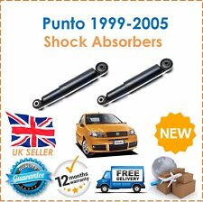 For Fiat Punto MK2 1999-2005 2 Rear Shock Absorbers Set Shockers Dampers New