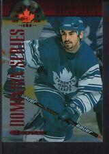 MATBIEU SCHNEIDER 1997/98 DONRUSS CANADIAN ICE  #116 MAPLE LEAFS SP #117/150