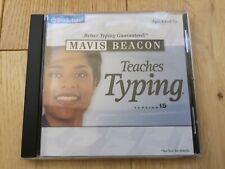 Mavis Beacon Teaches Typing. Compatible w/ Windows 98/Me or 2000 XP. Version 15