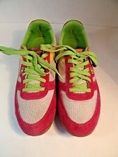 b04c02848c5 Womens Champion Fashion Mesh   Suede Leather sneakers shoes size 8.5