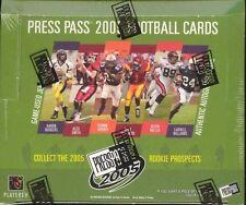 2005 Press Pass Football Hobby Box - Factory Sealed! Aaron Rodgers???