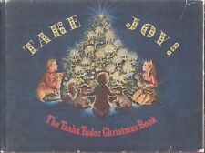VG HC DJ 1966 1st Ed Tasha Tudor Christmas Book Take Joy Celebrate a Family Xmas