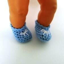 shoes for doll foot 4,5 cm 1.8 inch, crochet slippers, booties #4
