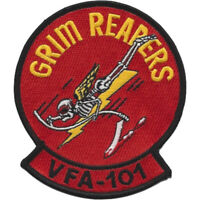 VF-101 GRIM REAPERS OH MY GOD CLASS 03-99 KILLED KENNY PATCH