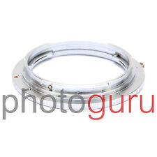Adattatore anello obiettivo ottica LEICA R su reflex CANON EOS