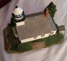 Harbour Lights Lighthouse Old Mission Point Michigan #236 Signed B Young
