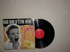 """Jordy –Dur Dur D'être Bébé!-Disco Mix 12"""" 45 Giri Vinile FRANCIA 1992 EuroHouse"""