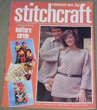 Stitchcraft February 1976 No. 506 - Best Ideas in Knitting, Crocheting & Home