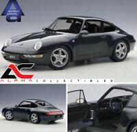 AUTOART 78134 1:18 PORSCHE 911 993 CARRERA GREEN METALIC