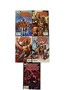 New Avengers: #1 Variant & #7-10 The Sentry Complete Story - 1st Illuminati