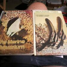 2 ea  Marine Aquariom Books