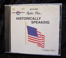 Radio Play-HISTORICALLY SPEAKING-Damascus Road Productions (2 CD Set) SEALED