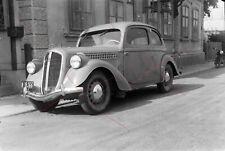 NEGATIV - Österreich 50iger Jahre Oldtimer Opel Fiat ?