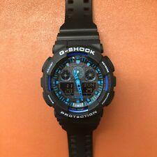 Casio G-Shock GA100-1A2 Quartz Analog Digital Men's Watch