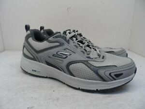 Skechers Men's Consistent Ultra Light Lace Up Athletic Shoe Gray/Navy Size 12M