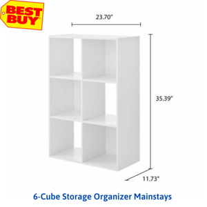 6-Cube Storage Organizer Mainstays